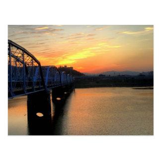 Cartão Postal Ponte de Waegwan