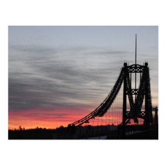 Cartão Postal Ponte de Waldo-Hancock