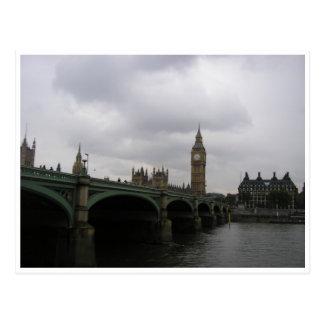Cartão Postal Ponte de Westminster