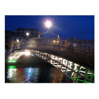 Cartão Postal Ponte do halfpenny, Dublin