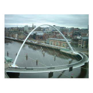 Cartão Postal Ponte do milênio de Gateshead