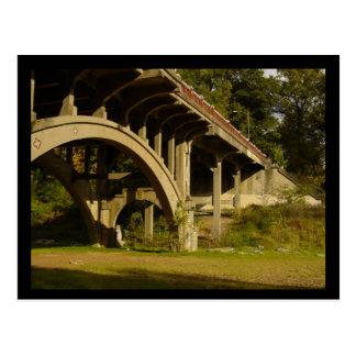 Cartão Postal Ponte do parque de Piedmont