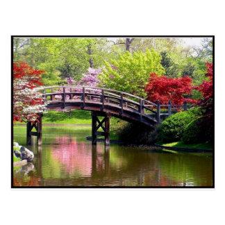 Cartão Postal Ponte do primavera