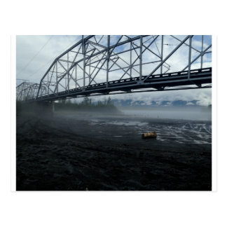 Cartão Postal Ponte do rio de Knik