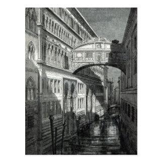 Cartão Postal Ponte dos suspiros, Veneza