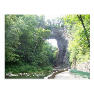 Cartão Postal Ponte natural