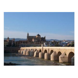"""Cartão Postal """"Ponte romana"""" em Córdova"""