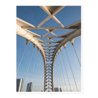 Cartão Postal Ponte urbana de Toronto