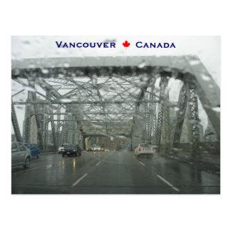 Cartão Postal Ponte Vancôver Canadá de Burrard