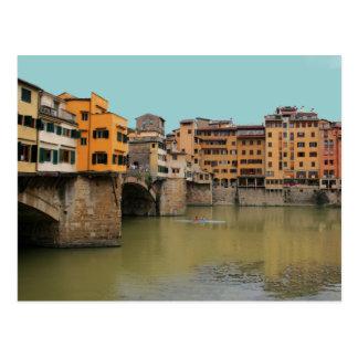 Cartão Postal Ponte Vecchio