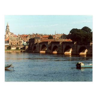 Cartão Postal Ponte velha de Berwick