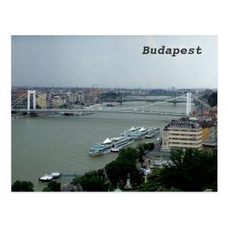 Cartão Postal Pontes sobre o Danúbio