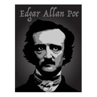 Cartão Postal Ponto de entrada autor de Edgar Allan