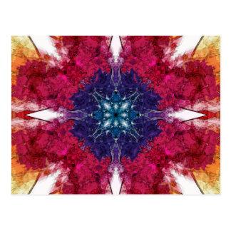 Cartão Postal Pontos da simetria