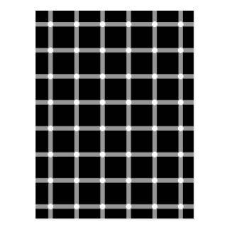 Cartão Postal Pontos piscar - ilusão óptica