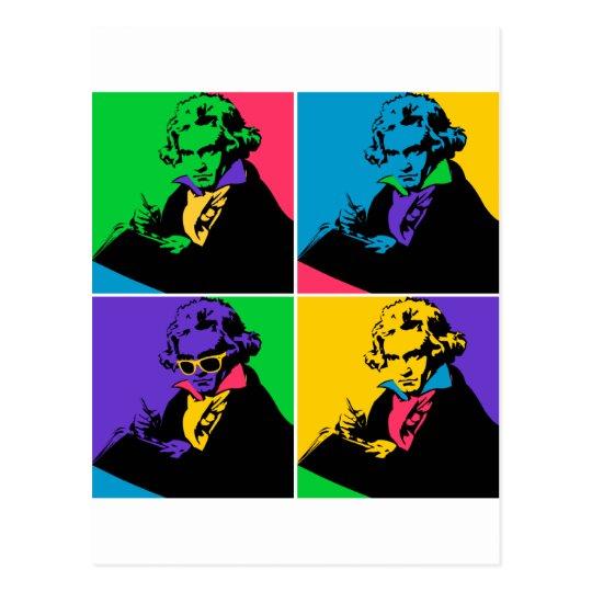 Cartão Postal Pop Beethoven