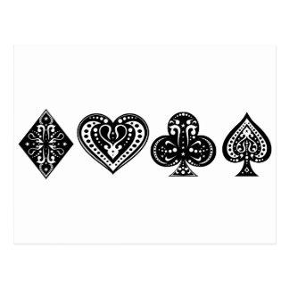 Cartão Postal Póquer