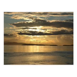 Cartão Postal Por do sol 2 de San Juan