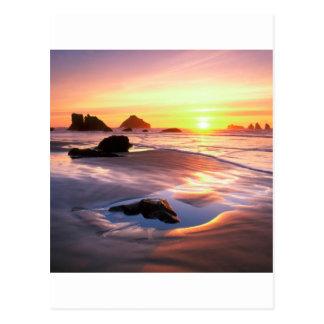 Cartão Postal Por do sol Bandon Oregon