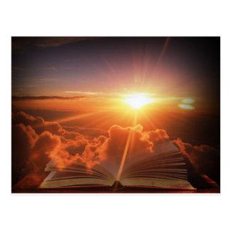 Cartão Postal Por do sol bíblico