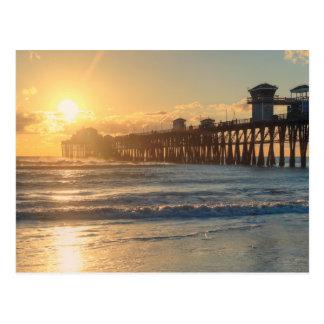 Cartão Postal Por do sol californiano
