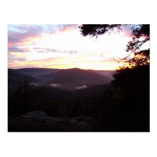 Cartão Postal Por do sol de Arkansas
