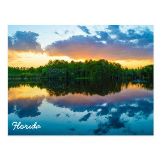 Cartão Postal Por do sol de Florida