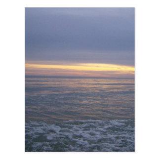 Cartão Postal Por do sol de Long Beach
