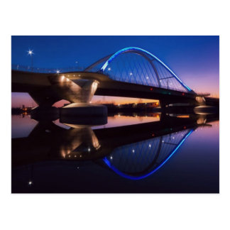 Cartão Postal Por do sol de Lowry