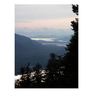 Cartão Postal Por do sol de Mt Roberts
