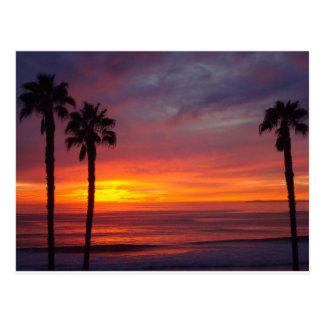 Cartão Postal Por do sol de San Clemente