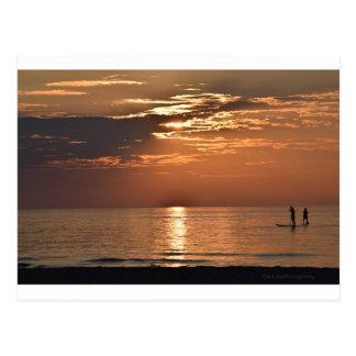 Cartão Postal Por do sol em algum lugar