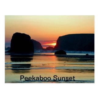 Cartão Postal Por do sol em Bandon, Oregon