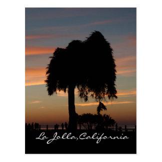 Cartão Postal Por do sol em La Jolla