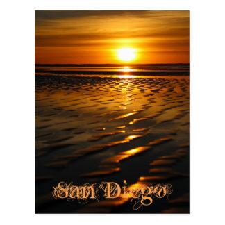 Cartão Postal Pôr do sol infinito