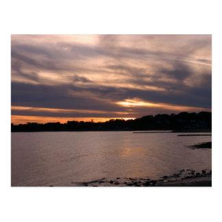 Cartão Postal Por do sol na ilha de Sherwood