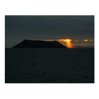Cartão Postal Por do sol sobre o major de Daphne