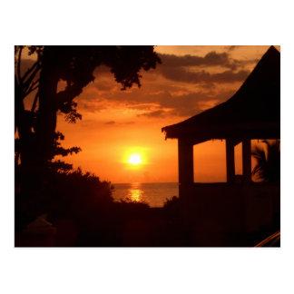 Cartão Postal Pôr-do-sol V