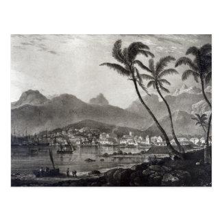 """Cartão Postal Port Louis """"vistas em Maurícia"""" perto"""