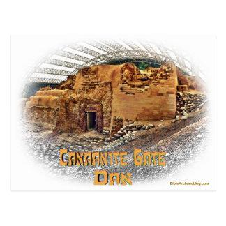 Cartão Postal Porta Canaanite, Dan