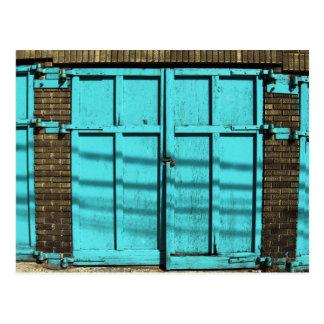 Cartão Postal Porta da garagem