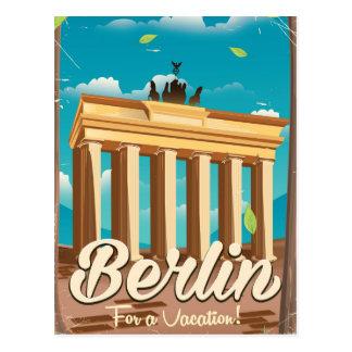 Cartão Postal Porta de Brandemburgo, poster de viagens dos