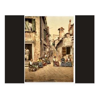 Cartão Postal Porta de York, Broadstairs, clássico Photochrom de