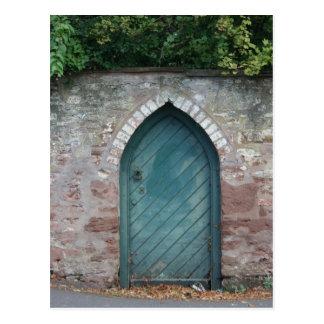 Cartão Postal Porta em Bishops Lydeard, Somerset, Reino Unido