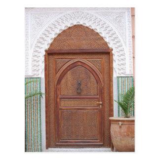 Cartão Postal Porta marroquina