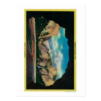 Cartão Postal Portal da opinião da grandiosidade do vale de