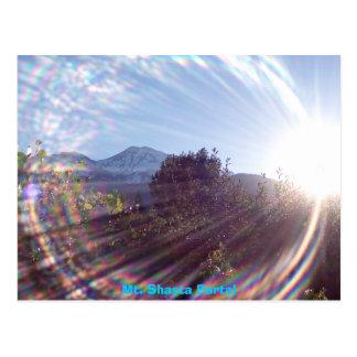 Cartão Postal Portal do Mt. Shasta