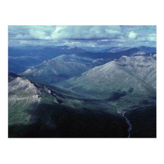Cartão Postal Portas do parque nacional ártico
