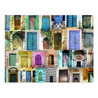 Cartão Postal Portas e Windows de todo o mundo
