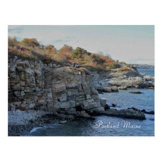 Cartão Postal Portland Maine